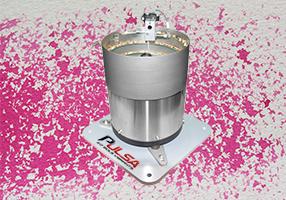 Bol Vibrant cuve cylindrique et plaque de base
