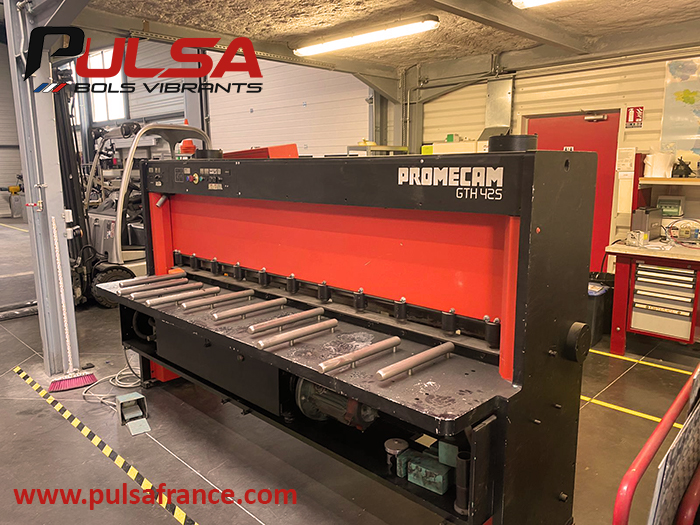 PULSA outils de production cisaille